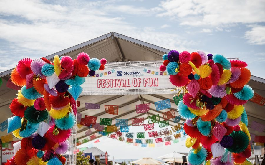 Festival of Fun Entrance Arch & Marquee