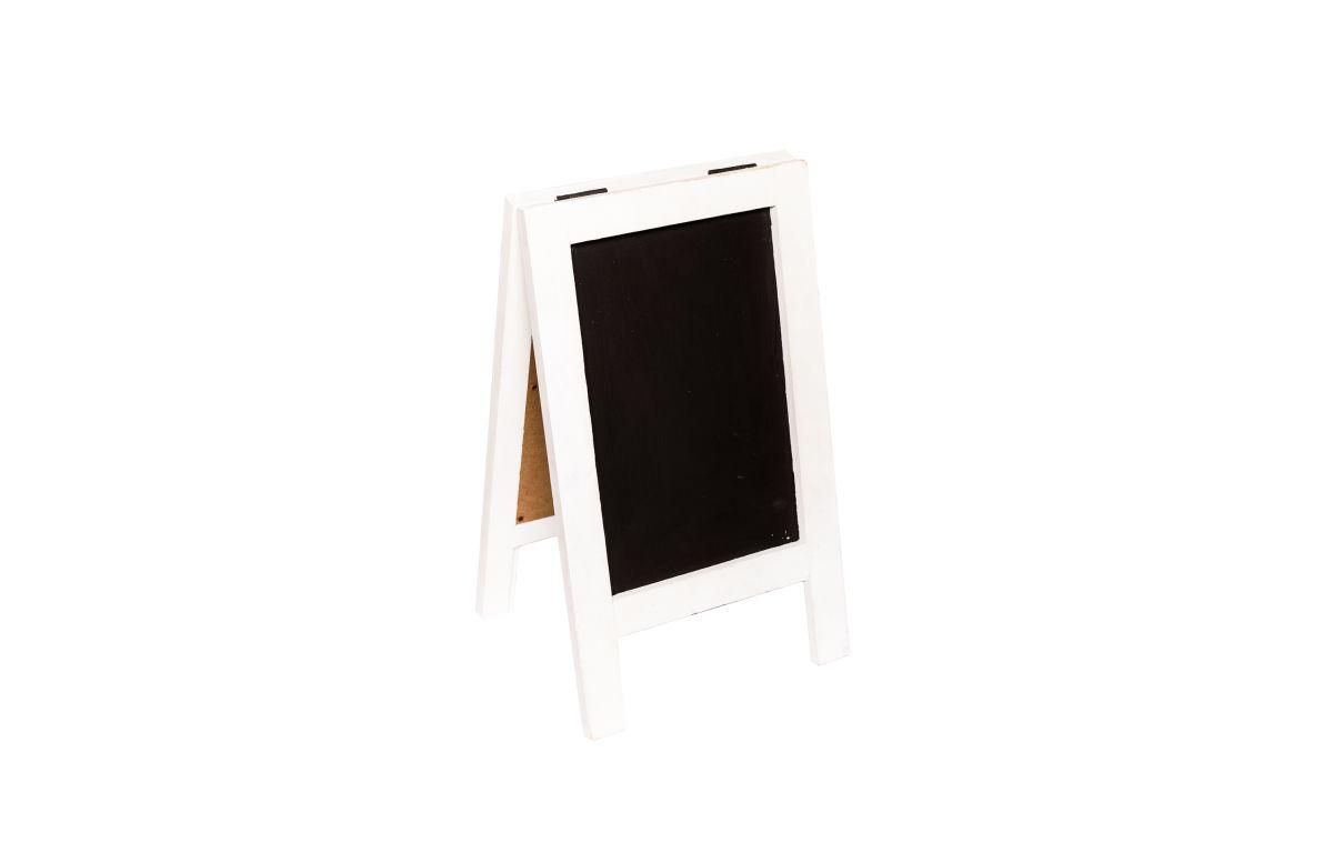 White_Mini_Chalkboard_A-frame_-_22cmW_x_38cmH