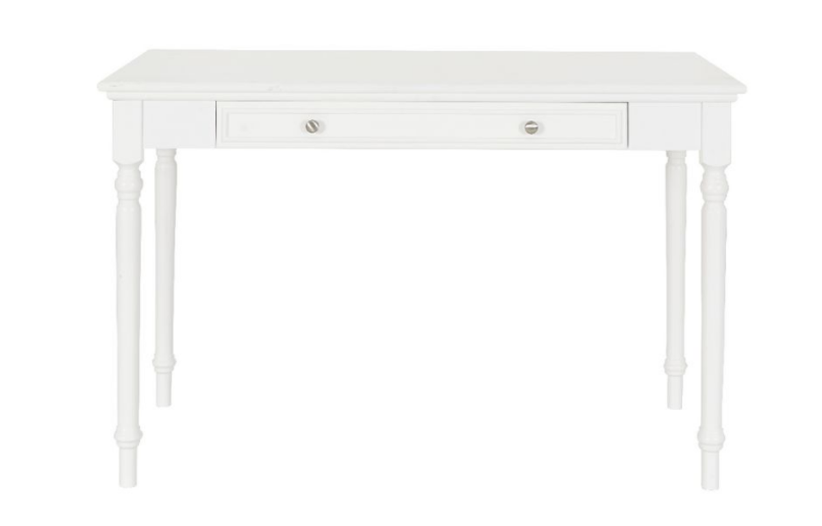 Classic_White_Console_Table_with_2_drawers_