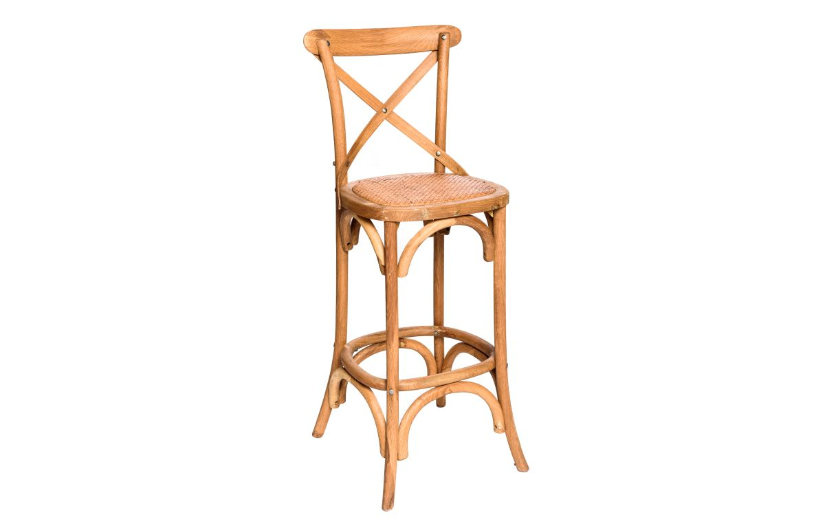 Crossback_High_Bar_Stool_Oak