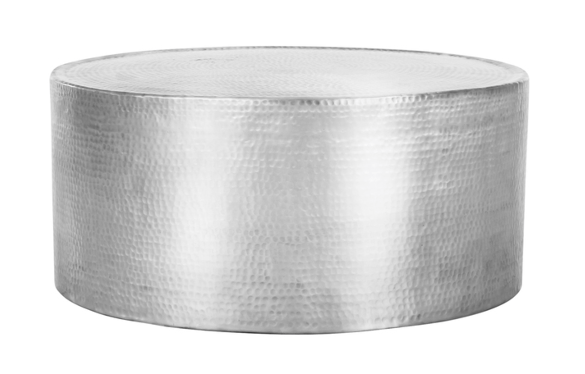 Hammered_Aluminium_Round_Coffee_Table_-_80cmD_x_36cmH