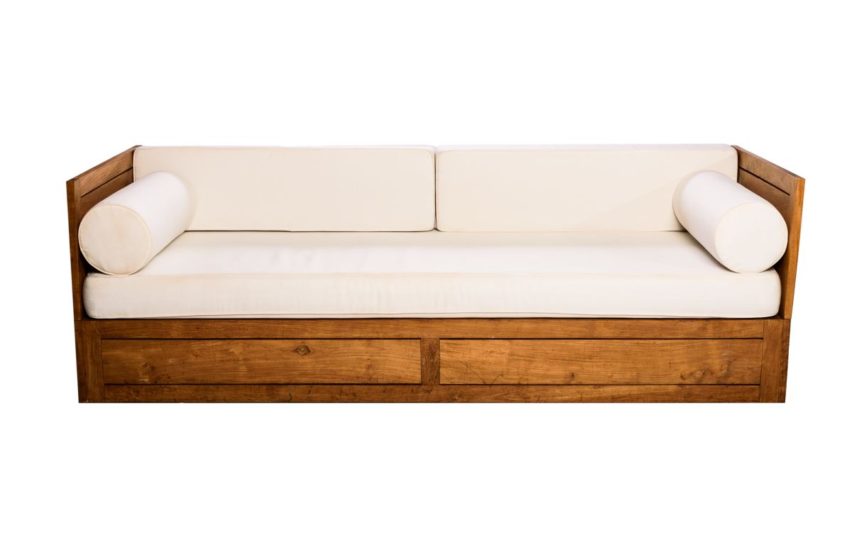 PREMIUM_-_Teak_Lounge_with_White_Cushions_-_2.3mL_x_85cmW
