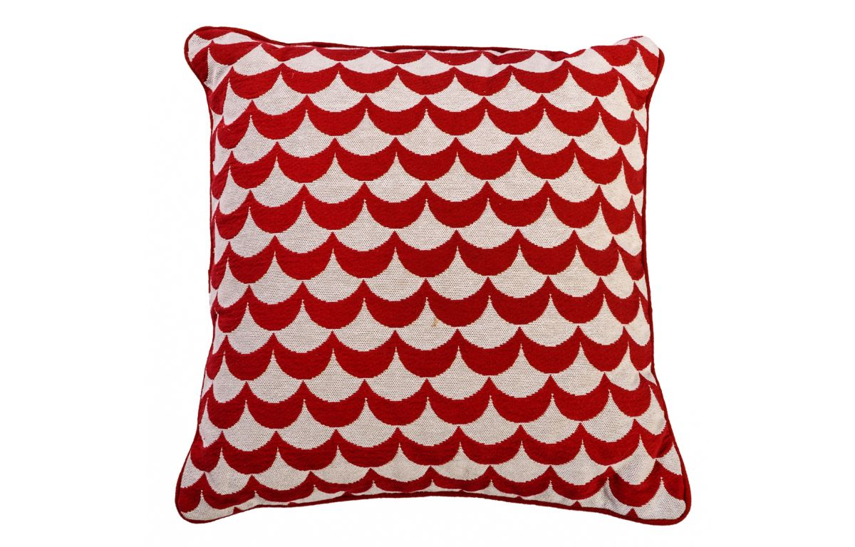 Red_and_White_Embroidered_Wave_Cushion_42cmSQ