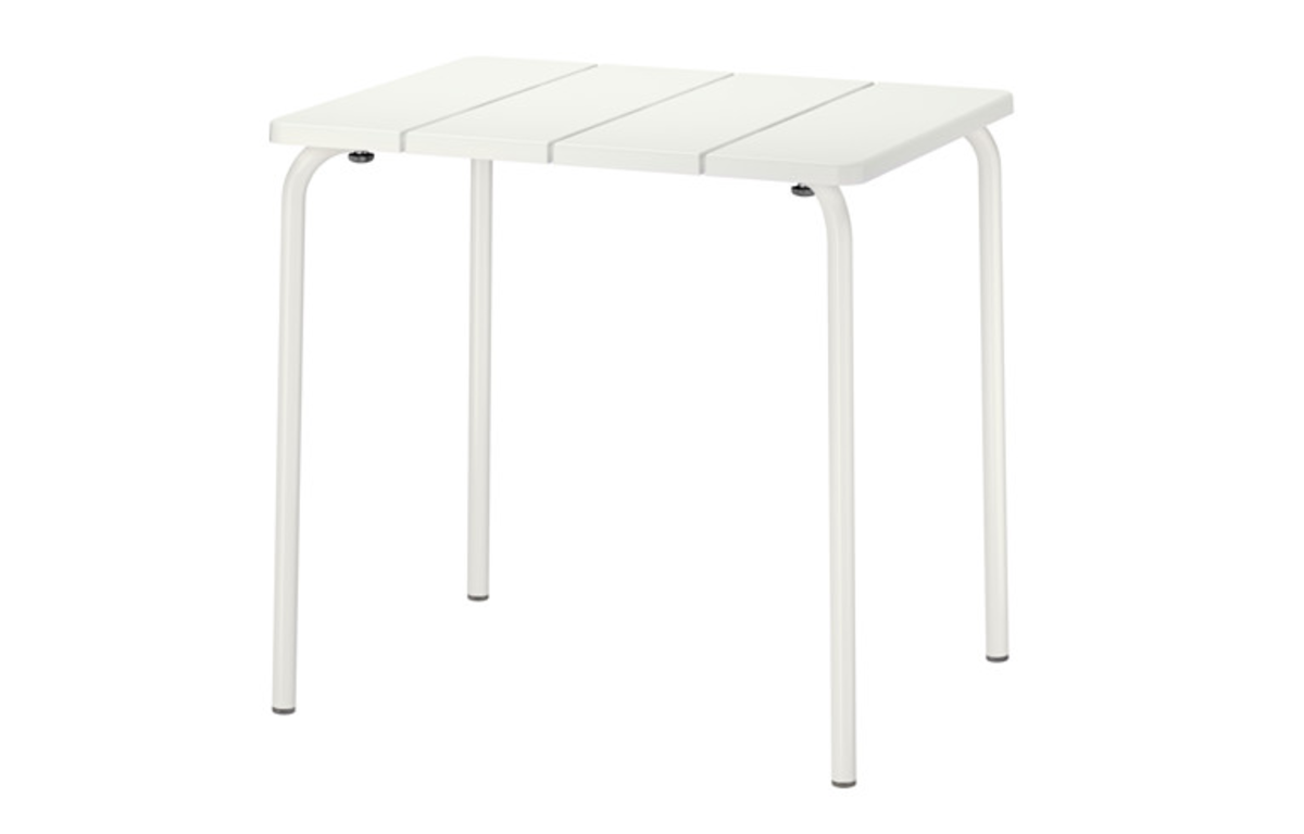 White_Outdoor_Cafe_Table