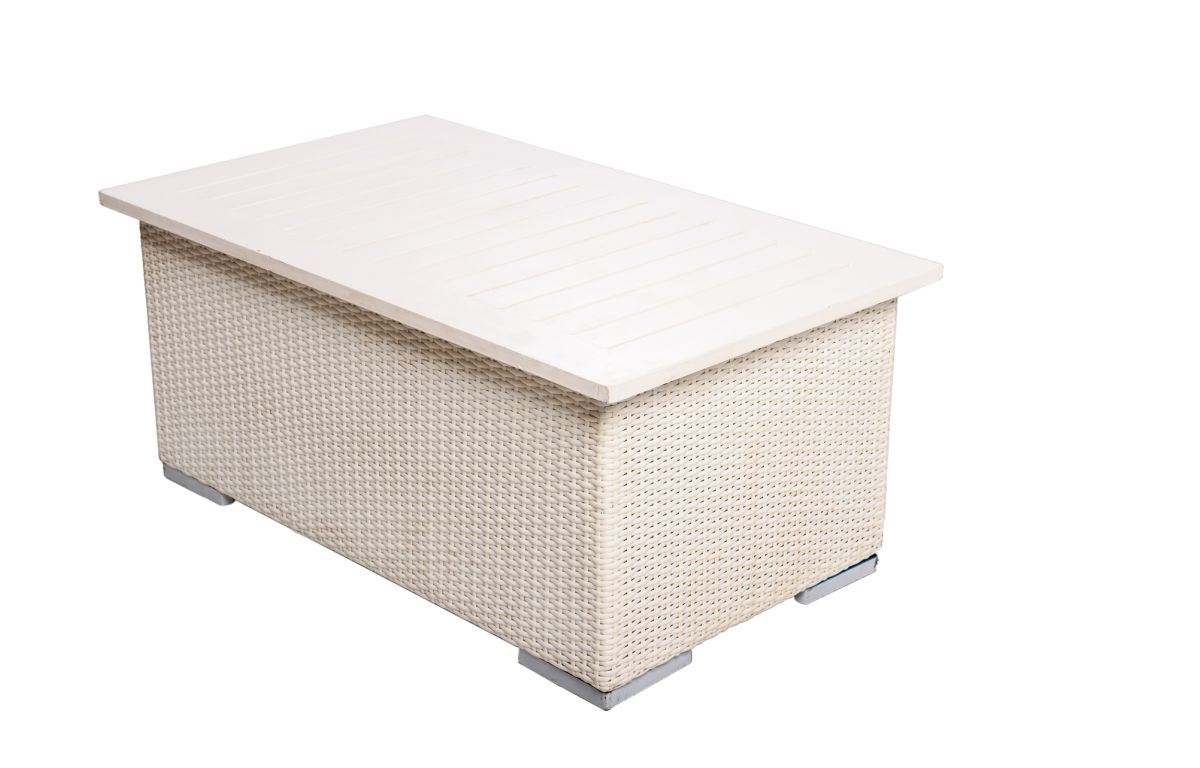 White_Rattan_Coffee_Table_with_White_Top_-_1mL_x_60cmD_x_40cmH