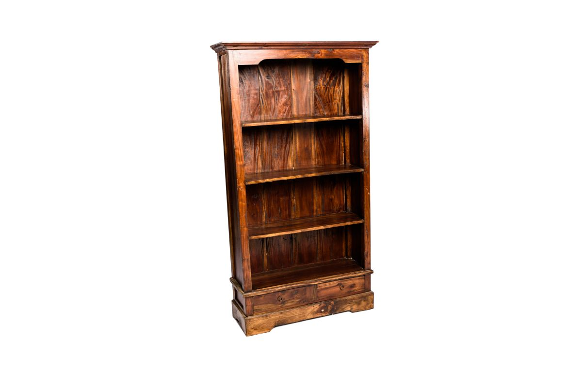 Wooden_Bookshelf_with_3_Shelves_and_bottom_cupboard