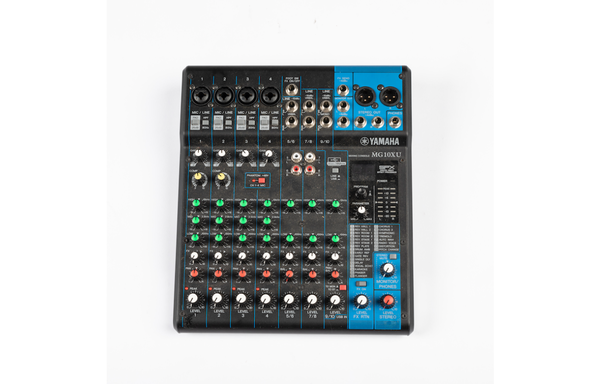 Audio_Mixing_Desk_Board
