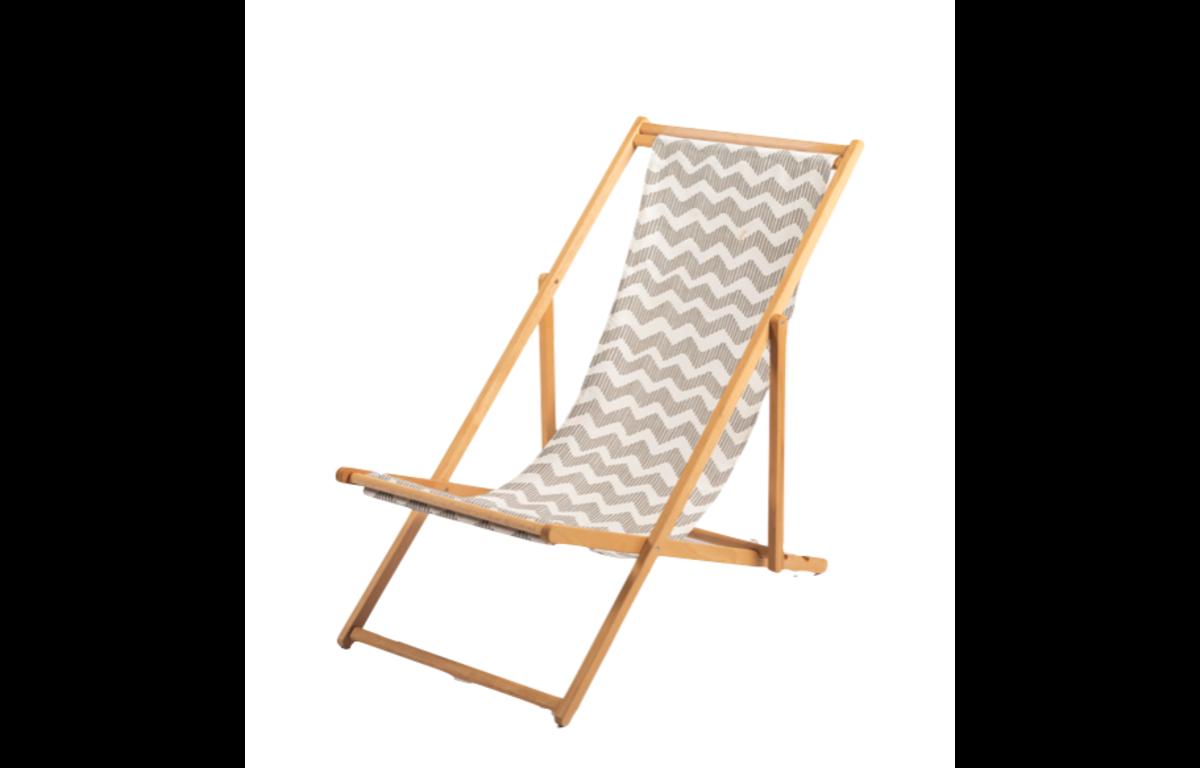Grey_and_White_Deckchair