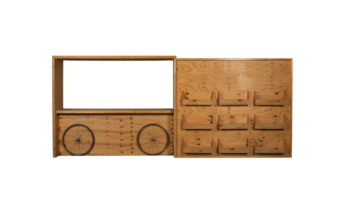 Plywood_Eco_Bar_and_display_wall_with_9_removable_crates