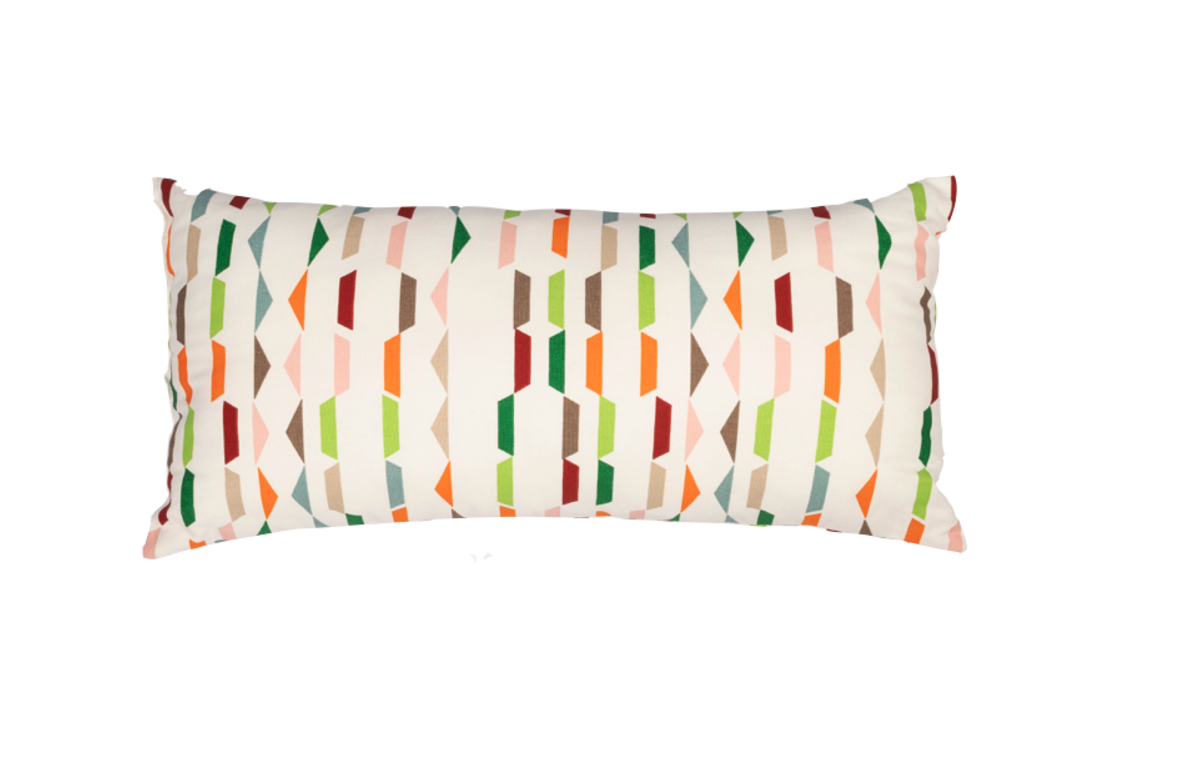 White_and_Multicolour_Pattern_Cushion