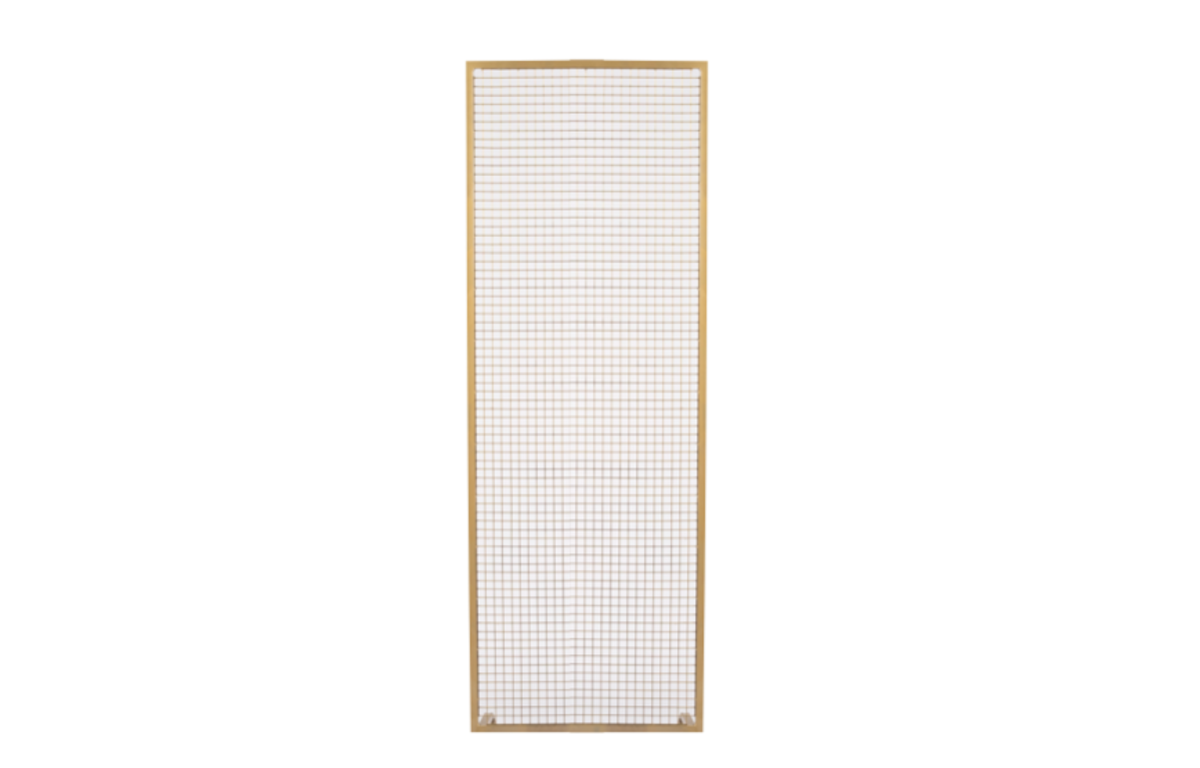 Gold_Wire_mesh_panel