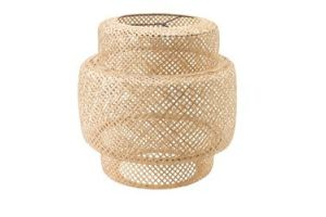 Photograph of Bamboo Woven Pendant Lamp Shade