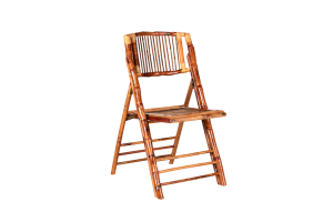 Photograph of Bamboo Chair Folding – 45cmWx 46cmD x 85cmH