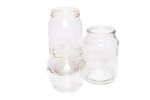 Photograph of Assorted Style Glass Jars
