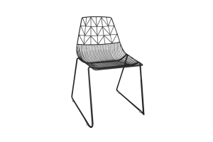 Photograph of Arrow Dining Chair Black