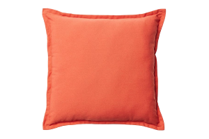 Photograph of Burnt Orange Cushion – 42cmSQ