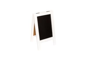 Photograph of Chalkboard White Mini A-frame – 22cmW x 38cmH