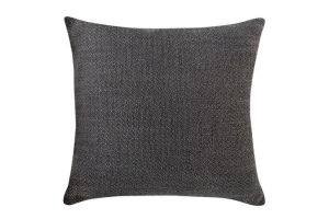 Photograph of Charcoal Textured Cushion – 45cmSQ