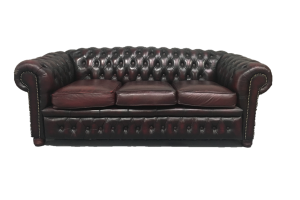 Photograph of Chesterfield Lounge 3 seater – 1.7m x 75cmD x 65cmH