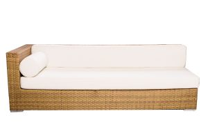 Photograph of Classic Rattan Lounge – Right Arm – 2.3mL x 90cmD x 72cmH