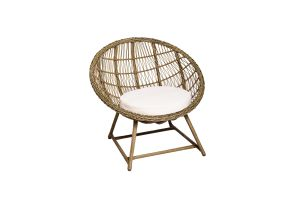 Photograph of Classic Rattan Scoop Chair – 90cm x 90cm