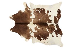 Photograph of Cow Hide Rug – 2.2mL x 1.1mW