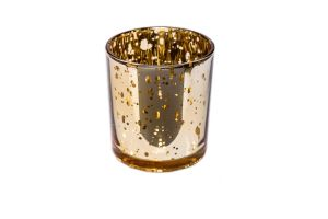 Photograph of Gold Shimmer Votive – 6cmW x 8cmH