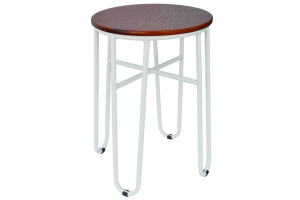 Photograph of Hairpin Stool White