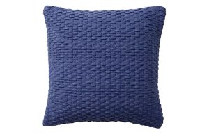 Photograph of Indigo Blue Woven Cushion – 45cmSQ