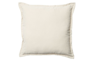 Photograph of Light Sand Cushion – 43cmSQ