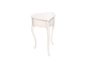 Photograph of Love Heart Side Table – 80cmH x 50cmW