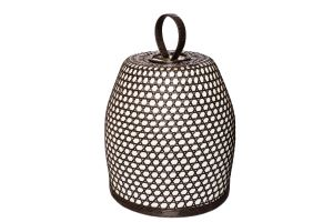 Photograph of Mocha Rattan Lantern – 70cmH x 49cmD