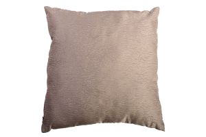 Photograph of Mushroom Satin Textured Cushion – 45cmSQ