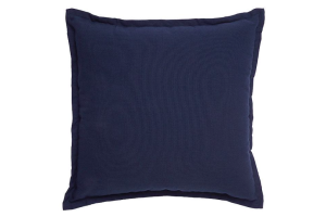 Photograph of Navy Blue Cushion – 43cmSQ