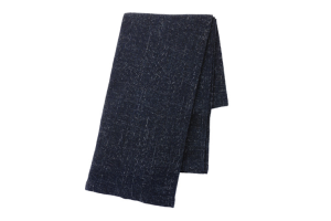 Photograph of Navy Blue Throw Blanket – 120cmL x 180cmW