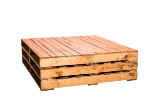 Photograph of Pallet Coffee Table Large – 1.2mL x 1.2mW x 35cmH