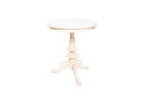 Photograph of Round French Side Table – 70cmH x 60cmD