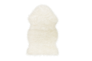 Photograph of Sheepskin Throw – 1mL x 60cmW