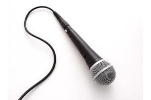 Photograph of Shure SM 58 Microphone - Cabled
