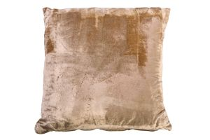 Photograph of Taupe Velvet Cushion – 45cmSQ