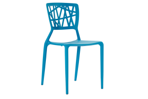 Photograph of Viento Replica Chair Aqua – 44cmW x 50cmD x 84cmH