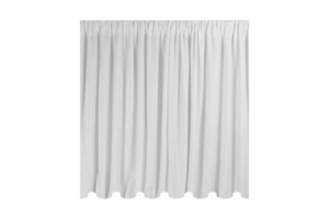 Photograph of White Chiffon Drape – 6mL x 3mW