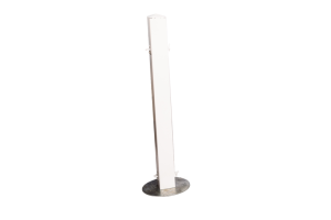 Photograph of White Picket Fence Post – 1mH x 30cmW