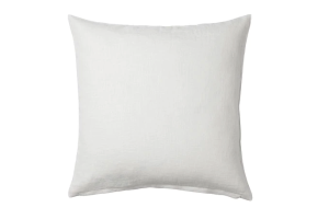 Photograph of White Large Cushion – 46cmSQ