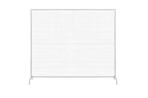 Photograph of White Wire Mesh Backdrop