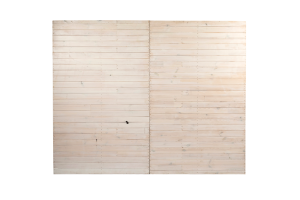 Photograph of Whitewash Pallet Wall – 3mW x 2.4mH (Must be pegged or weighted)