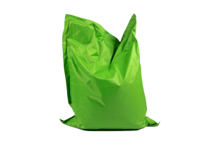 Photograph of Bean Bag Large – Green – 180cm x 140cm x 25cm