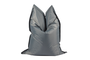 Photograph of Bean Bag Large – Grey – 180cm x 140cm x 25cm