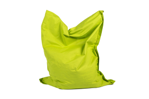 Photograph of Bean Bag Large – Lime Green – 180cm x 140cm x 25cm