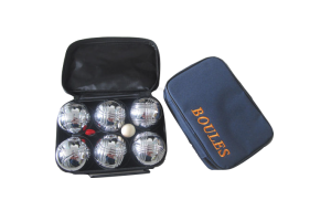 Photograph of Bocce Ball Yard Game – Silver